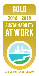 Portland Sustainability at Work Certified