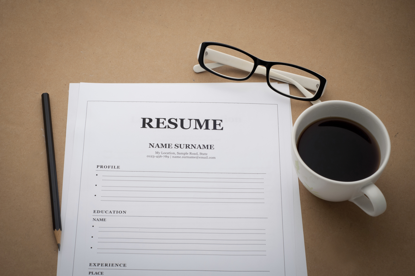 resume writing 101 vanderhouwen
