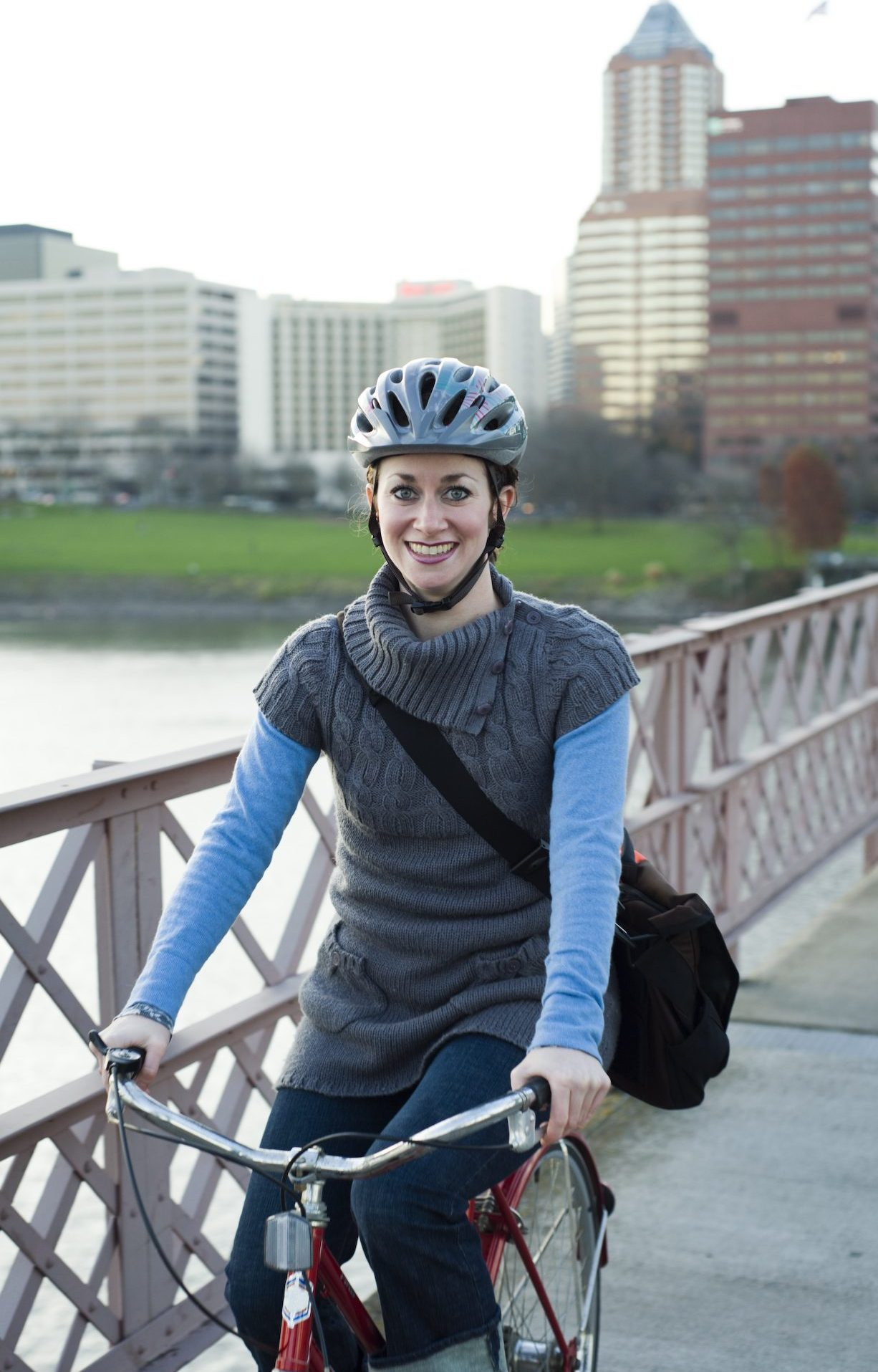 Portland Bike Commuting - VanderHouwen