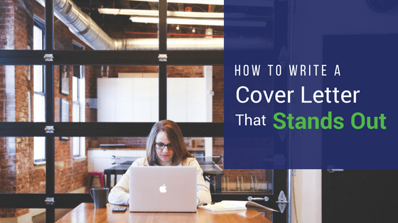 How To Write A Cover Letter That Stands Out | VanderHouwen