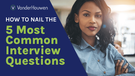 How to Nail the 5 Most Common Interview Questions | Closeup of professional Black woman in button up with arms folded smiling at the camera