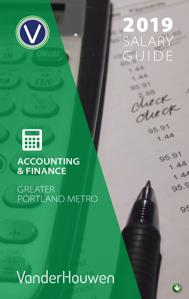 Salary Guide -Accounting and Finance Jobs - Greater Portland Metro - 2019
