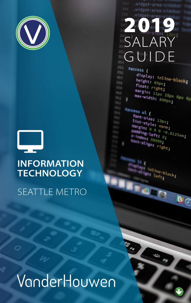 Salary Guide - Information Technology Jobs - Seattle Metro - 2019