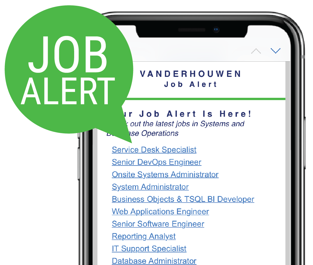 Custom Job Alerts - VanderHouwen.com - Staffing Agency