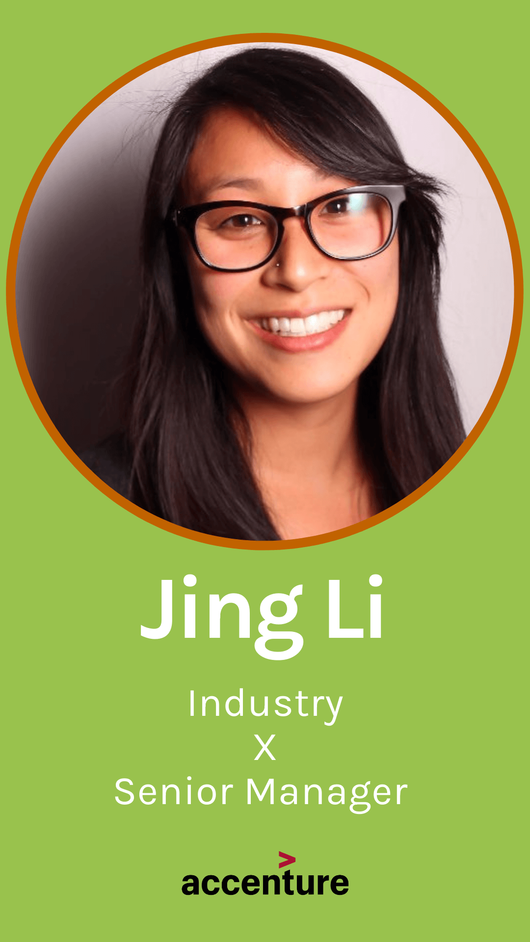 Jing Li, Innovation & Growth Strategy Lead, Accenture's North America Technology Business