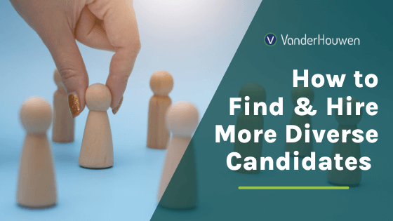 How to Find and Hire More Diverse Candidates | close up view of a white hand with gold nail polish picks a gamepiece out of a crowd