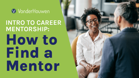 Intro to Career Mentorship - How to Find a Mentor | Black woman sitting on a large chair, smiling at an older native man with grey hair in a bun with his back to the camera.
